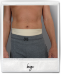 Bilby Slim Aktiv | Ostomy wrap Poly/Elastan | crosswise carrier